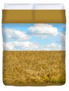 Fields Of Wheat Duvet Cover