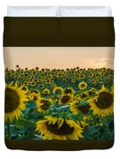 Fields Of Yellow  Duvet Cover