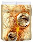 Fiery Birth Duvet Cover