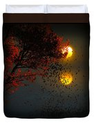 Fiery Fall... Duvet Cover