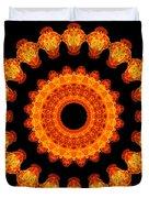 Fiery Pattern Duvet Cover