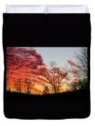 Fiery Sundown Duvet Cover