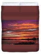 Fiery Sunset Duvet Cover