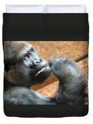 Fiesta Gorilla Duvet Cover
