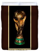 Fifa World Cup Trophy Duvet Cover