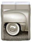 Fifties Plymouth I I Duvet Cover
