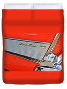 Fifty Seven Chevy Bel Air Duvet Cover