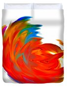 Fight Of Colors Duvet Cover