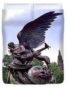 Fighting Angel Duvet Cover