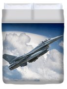 Fighting Falcon Duvet Cover