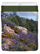 Figueroa Mountain Splendor Duvet Cover