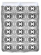 Figure 8 Black And White Pattern Duvet Cover