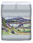 Figure And Kirk   Iona Duvet Cover