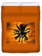 Fijian Sunset Duvet Cover