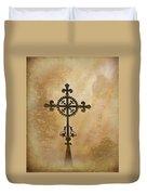 Filigree Cross The Forgotten Series 10 Duvet Cover
