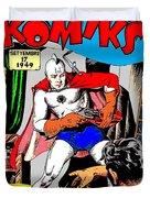 Filipino Action Comics Duvet Cover