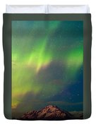 Filled With Aurora Duvet Cover by Ron Day