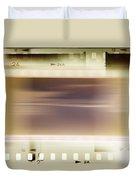 Film Strips Duvet Cover