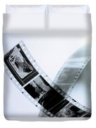 Film Strips Duvet Cover by Tommytechno Sweden