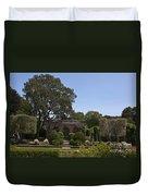 Filoli Sunken Garden Duvet Cover