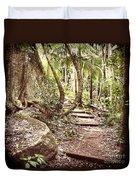 Filtered Forest Duvet Cover