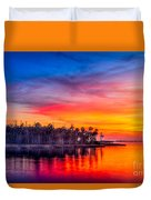 Final Glow Duvet Cover by Marvin Spates