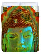Finding Buddha - Meditation Art By Sharon Cummings Duvet Cover by Sharon Cummings