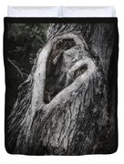 Finding Love Duvet Cover by Joan Carroll