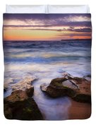 Finding The Cracks Duvet Cover by Mike  Dawson
