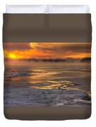 Fire And Ice Cropped Duvet Cover