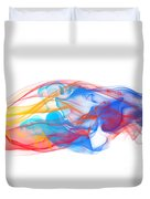 Fire And Ice Smoke II Duvet Cover