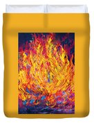 Fire And Passion - Here's To New Beginnings Duvet Cover