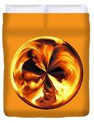 Fire Ball Duvet Cover
