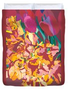 Fire Bouquet Duvet Cover