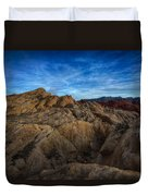 Fire Canyon Twilight Duvet Cover