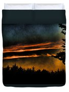 Fire Clouds Duvet Cover