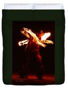 Fire Dancer 1 Duvet Cover