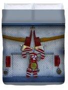 Fire Department Christmas 3 Duvet Cover