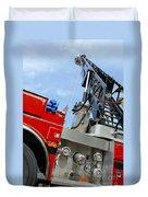 Fire Engine Duvet Cover