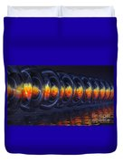 Fire Rings Duvet Cover