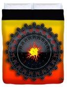 Fire Storm Duvet Cover