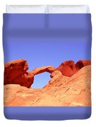 Fire Valley Arch Duvet Cover