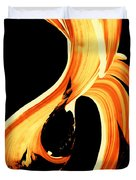 Fire Water 260 By Sharon Cummings Duvet Cover