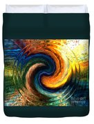 Fire Water Duvet Cover by Anthony Morris