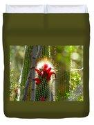 Firecracker Cacti Duvet Cover