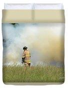 Firefighter 55 Duvet Cover