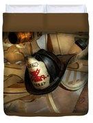 Firefighter - Somewhere To Hang Hat  Duvet Cover