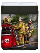 Firefighting - Only You Can Prevent Fires Duvet Cover
