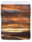Firehole Sunset Duvet Cover