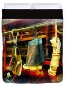 Fireman - Boots And Fire Gear Duvet Cover